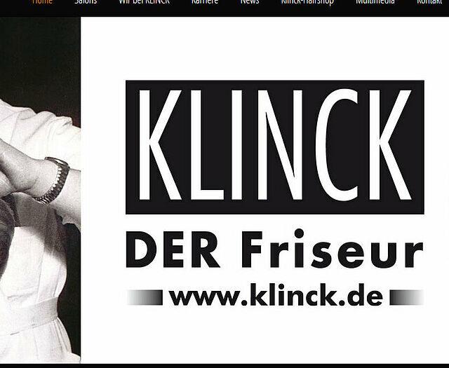 KLINCK Der Friseur – 90 Jahre