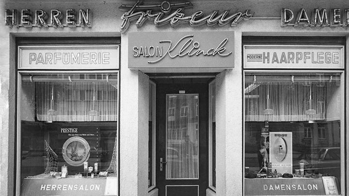 Klinck Salon im Jahre 1955/1970