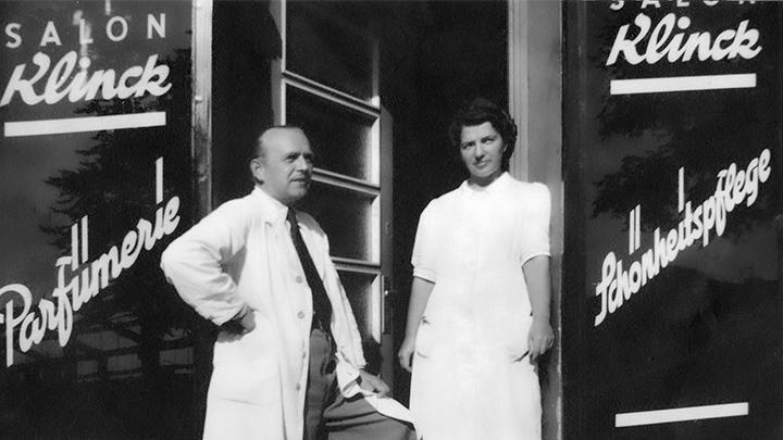 Wilhelm Klinck und seine Frau Magda