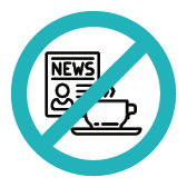 Keine Zeitschriften/Getränke Symbol bei Klinck Dein Friseur
